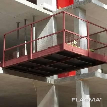 Выносные строительные площадки для приема грузов 3-5 т