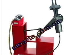 Выпрессовщик шкворней ВПШ-70 с тележкой