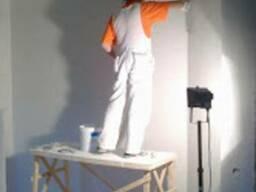 Выравнивание стен под покраску г. Обухов.