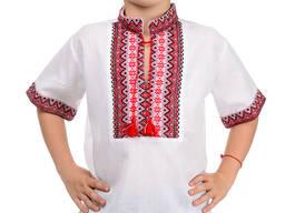 Вышиванка детская, на мальчика, Вишиванка хлопчача, 32-42