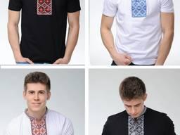 Вышиванка мужская футболка, Вишиванка чоловіча, р-р 44-58