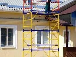 Вышка для строительных работ 1, 7х0, 8 Этажность 3 плюс 1