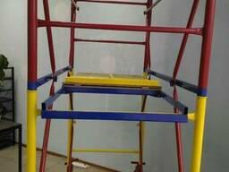 Вышка для строительных работ на колёсах Этажность 4 плюс 1