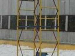 Вишка-тура будівельна висота 2.4-7.4 м настил 1.7х0.8