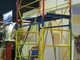 Вишка-тура будівельна висота 3.9-20.7 м настил 1.2х2 - фото 1