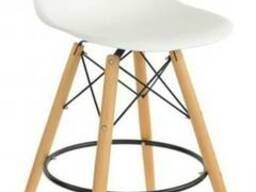 Высокие барные стулья AC-016WH для барных стоек кафе, дома