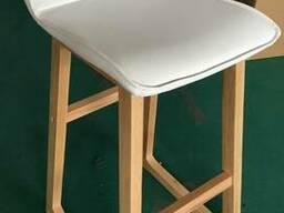 Высокий барный стул Modena New white (Модена белый) H-750