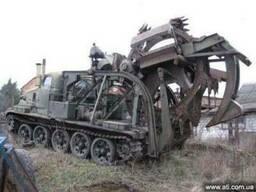 Высокопроизводительный траншеекопатель БТМ-3