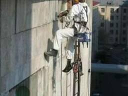 Высотные работы, фасадные работы, утепление фасадов