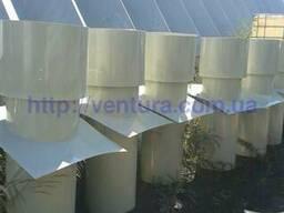 Вытяжная вентиляционная шахта для содержания животных