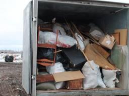 Вывоз бытового мусора и строительного хлама