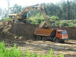 Вывоз грунта Киев. Вывоз земли.
