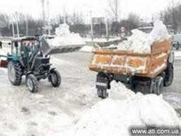 Вывоз и расчистка снега Днепропетровск