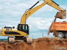 Вывоз механизированный строительного мусора, грунта, глины