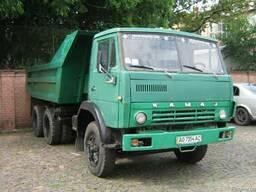 Вывоз мусора Камаз самосвал, до 12 тонн.