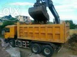 Вывоз мусора, механизированная погрузка.