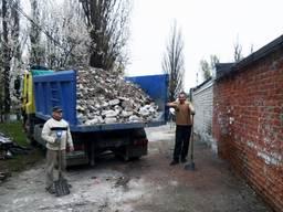 Вывоз мусора, погрузка мусора