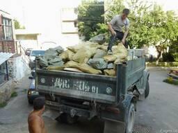 Вывоз мусора (Вивіз сміття) земли услуга грузчиков