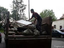 Вывоз мусора, возможна погрузка трактором и вручную - фото 2