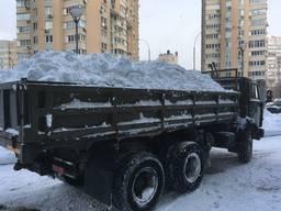 Вывоз снега с грузчиками