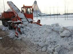Вывоз снега Киев. Погрузка, чистка снега Киев.