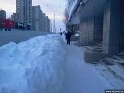 Вывоз снега Киев, техника по уборке снега