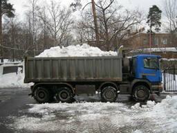 Уборка, погрузка, вывоз снега Днепропетровск левый берег