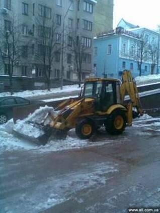 Вывоз снега, уборка снега Киев