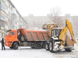 Уборка и вывоз снега Васильков , очистка территории от льда