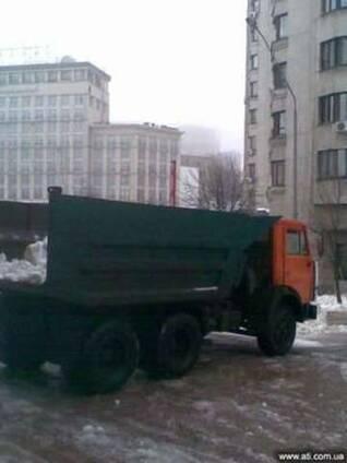 Вывоз снега Зил, Камаз Киев