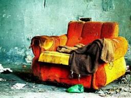 Вывоз старой мебели, аккуратно разобрать старую мебель