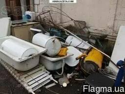 Вывоз старых ванн батарей радиаторов газовых колонок и тд