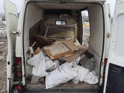 Вывоз строительного мусора. хлама. старая мебель. ирпень буча, возель, , стоянка, Гостомель