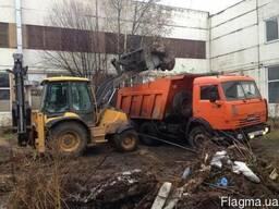 Вывоз строительного мусора и СНЕГА Киев и Киевская обл
