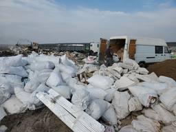 Вывоз строительного мусора Ирпень. Газель, Зил, КамАЗ.