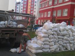 Вывоз строительного мусора, листьев ЗИЛ, КАМАЗ, Г