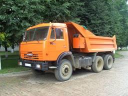 Вывоз строительного мусора, перевозка грунта, доставка сыпучих стройматериалов