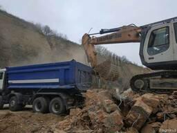 Вывоз строительных отходов.