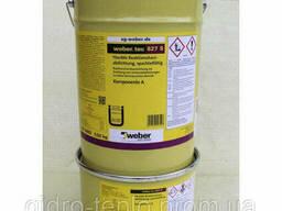Weber. tec 827S (Superflex 40S), банка 8кг, эпоксидная смола