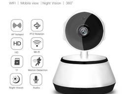 Wi-Fi IP-камера видеонаблюдения V380 видео и радионяня