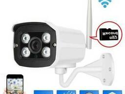 WI-FI IP с microSD Камера видеонаблюдения 1МР код 3321