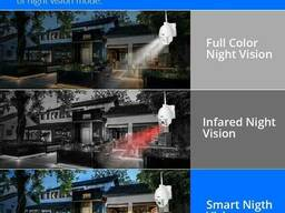 WiFi видеокамера Hiseeu WHD902A (PTZ, IP, LAN)