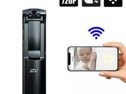 Wifi видеорегистратор портативный - мини камера с поворотным объективом IDV L01, время. ..