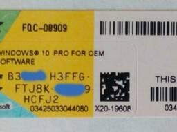 Windows 10 Professional купить 33$ лицензия