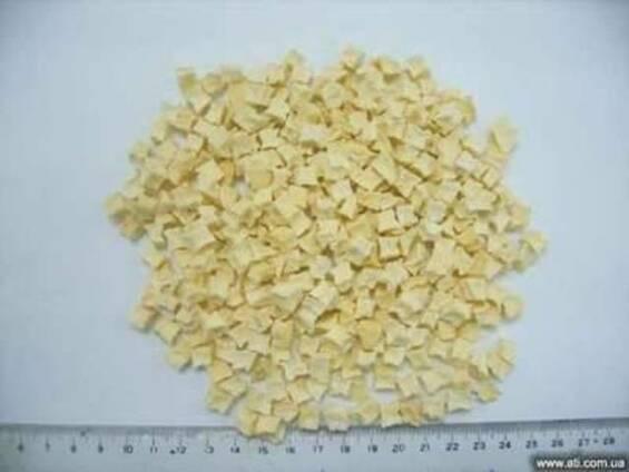 Яблоко кубик сушеное 5*5 мм, 10*10