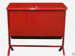 Ящик пожарный для песка опрокидывающийся - описание Ящик ме
