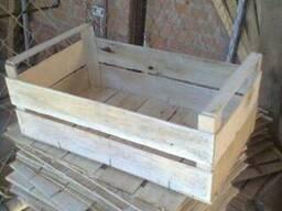 Ящики деревянный для помидор сшитый на станке Coralli в Гнив