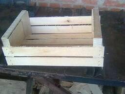 Ящики шпоновые деревянные для сливы сшитый на станке Coralli