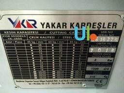 Станок для резки арматуры Yakar Kardesler YK3800 - фото 2