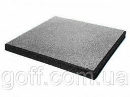 Якісне гумове покриття для підлоги - сіре